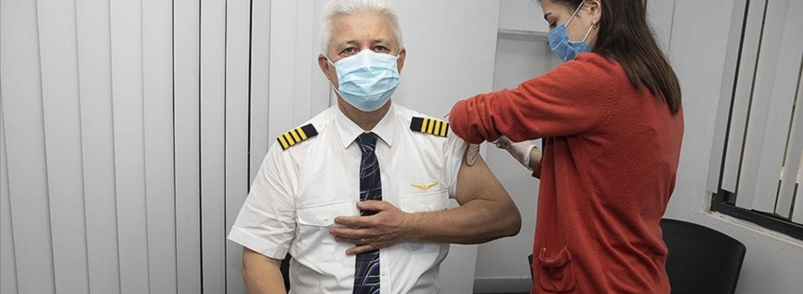 Turkish Airlines flight crews started to receive Covid-19 vaccine ...