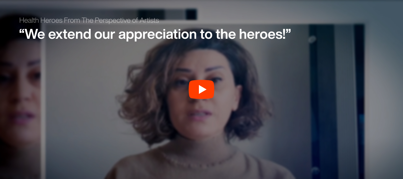 Health Heroes From The Perspective of Artists
